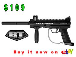 BT 4 Combat Paintball Gun, paintball gun under 150