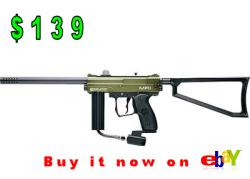 Kingman Spyder MR1 Tactical, paintball gun under 150