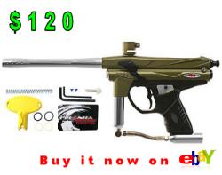 Piranha GTI Rampage, paintball gun under 150