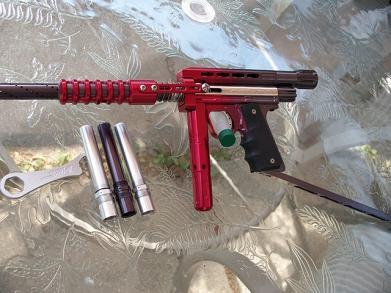 stock class paintball gun